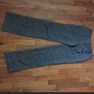 Marrakech army green cargo pants